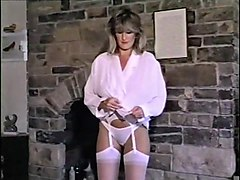 hungry like the wolf - vintage 80's big tits strip dancing