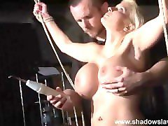 german slavegirl melanie moons electro bdsm and zapped electric toy torture