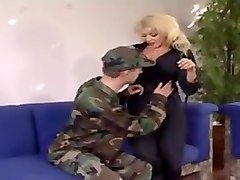 blonde mature with big clit