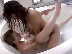 Teen Girls In A Tub